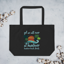 Get an All-Over at Haulover - Large Tote Bag