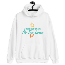 Happiness is No Tan Lines - Hooded Sweatshirt