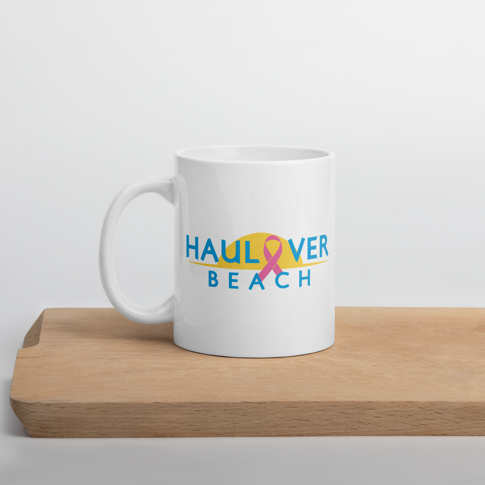 Haulover Beach - Breast Cancer Awareness Mug