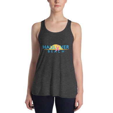 Haulover Beach - Breast Cancer Awareness - Women's Flowy Tank Top
