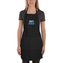 Party Naked Embroidered Apron