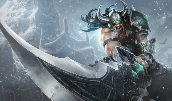 League of Legends Tryndamere Classic Skin