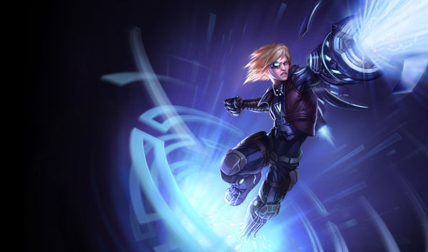 League of Legends Ezreal Pulsefire Skin