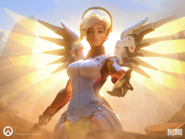 Overwatch Mercy Guardian Angel Wings