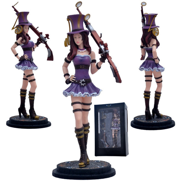 League of Legends Caitlyn The Sheriff of Piltover Figure 10.5-Inch - AFK eSport Store
