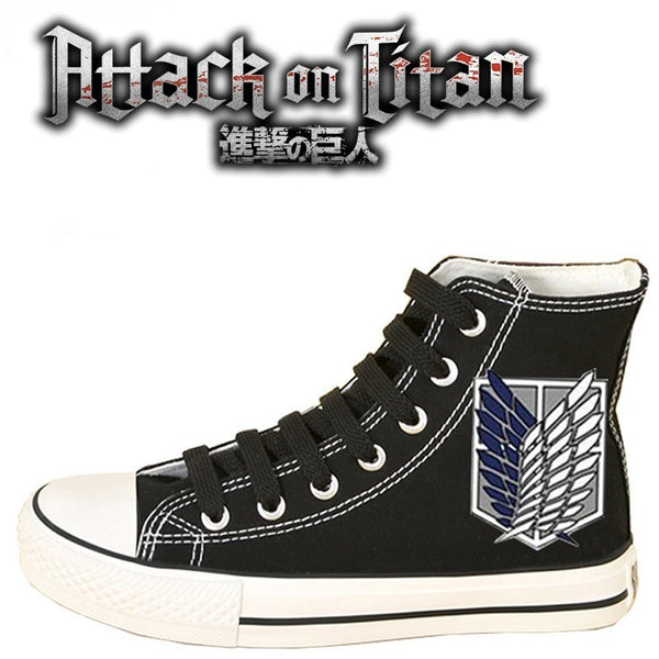 Attack on Titan Survey Corps Garrison Sneakers - AFK eSport Store (AFKeSportStore.com)