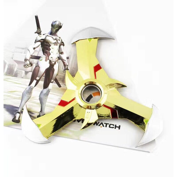 Overwatch Genji Spinnable Shurikens (1 Piece) Oni Skin - Golden - AFK eSport Store