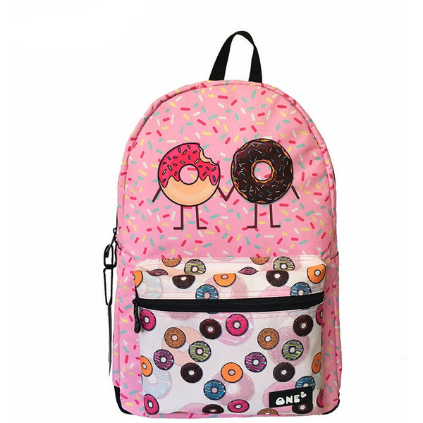 Donut Holding Hands Backpack - AFK eSport Store (AFKeSportStore.com)