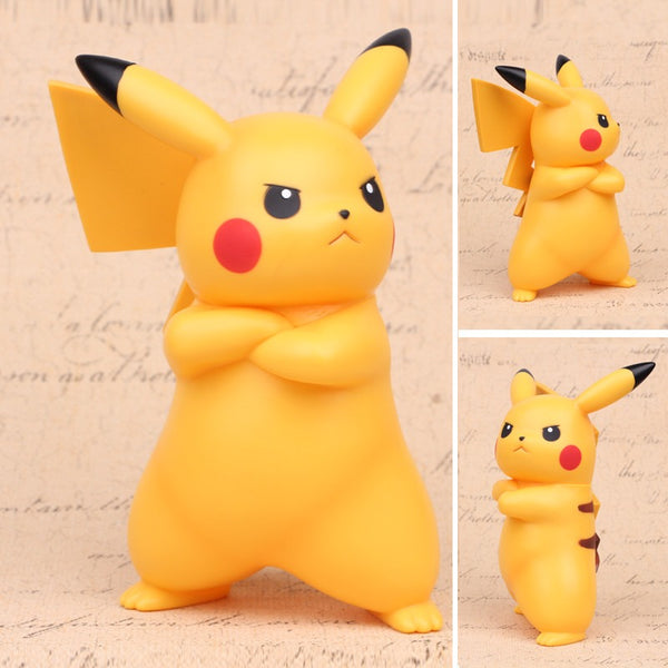 Pokemon Pikachu Angry Arms Crossed Figure - AFK eSport Store (AFKeSportStore.com)
