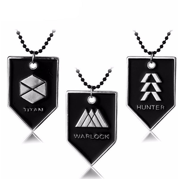 Destiny Guardian Class Necklace (Titan, Warlock, Hunter) - AFK eSport Store