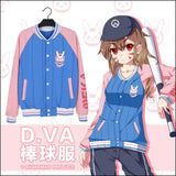 Overwatch Dva I Play To Win Varsity Letterman Jacket - AFK eSport Store