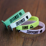 Overwatch Silicone Role Bracelets - AFK eSport Store