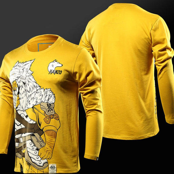 Overwatch Hanzo Okami Long Sleeve Shirt - AFK eSport Store