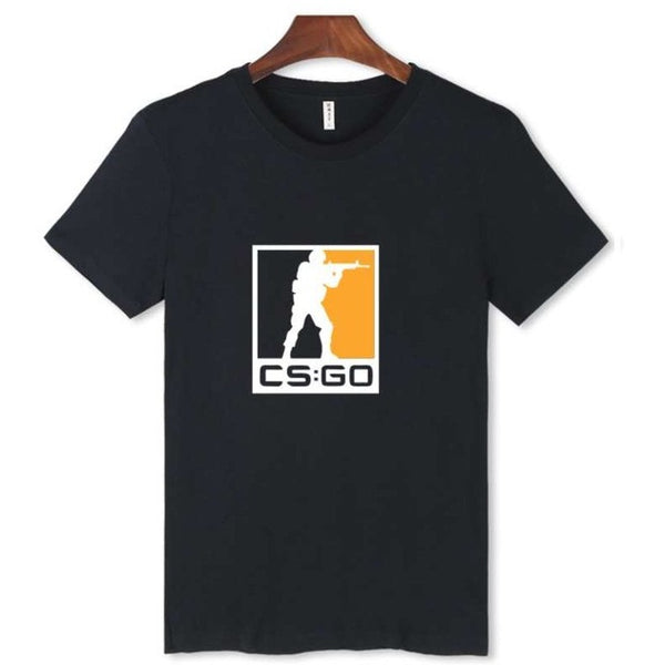 CS:GO Logo T-Shirt (Version 2) - AFK eSport Store
