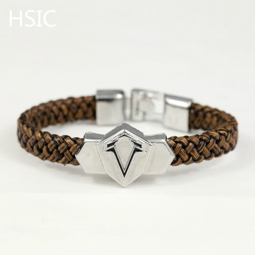 Assassin's Creed Assassin Insignia Braided Leather Bracelet - AFK eSport Store (AFKeSportStore.com)
