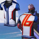 Overwatch Cosplay Soldier: 76 Compression T-Shirt - AFK eSport Store (AFKeSportStore.com)