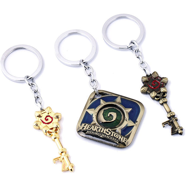 Hearthstone Logo or Arena Key Keychains - AFK eSport Store