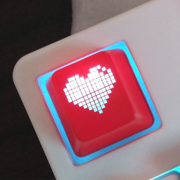 Pixel Heart Key Cap for Mechnical Keyboards - AFK eSport Store (AFKeSportStore.com)