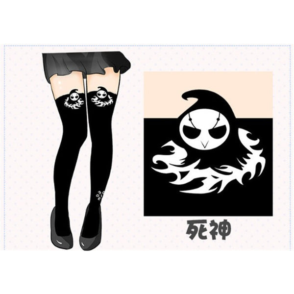 Overwatch Reaper Dva Thigh High Tights Stockings - AFK eSport Store (AFKeSportStore.com)