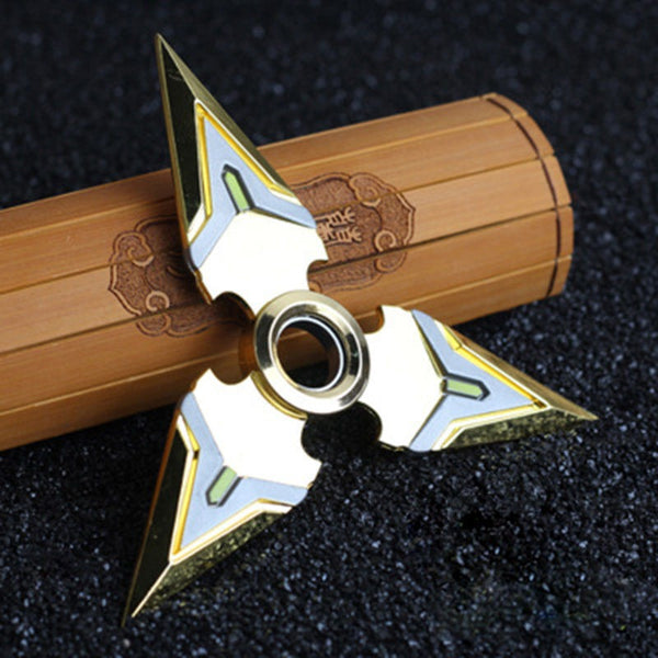 Overwatch Genji Spinnable Shurikens (1 Piece) Golden - AFK eSport Store