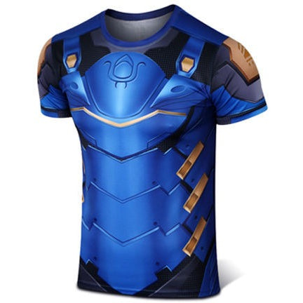 Overwatch Cosplay Pharah Compression Shirt - AFK eSport Store (AFKeSportStore.com)