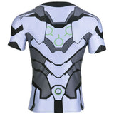 Overwatch Cosplay Hero Compression Shirts (Genji, Soldier: 76, Reaper, Hanzo) - AFK eSport Store (AFKeSportStore.com)