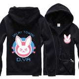 Overwatch Dva I Play To Win Bunny Standard Hoodie - AFK eSport Store