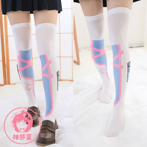 Overwatch Dva MEKA Knee High Socks/Stockings - AFK eSport Store
