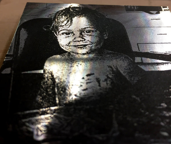 Laser Engraved Aluminum Art (upload your own file)