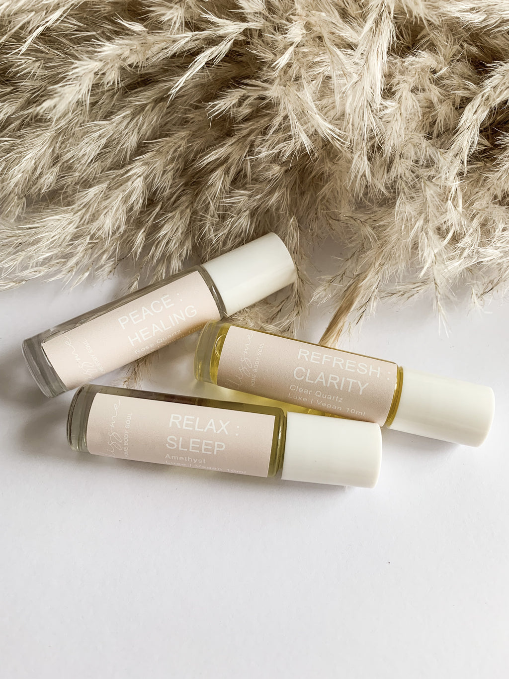Essential oil roller pack of three