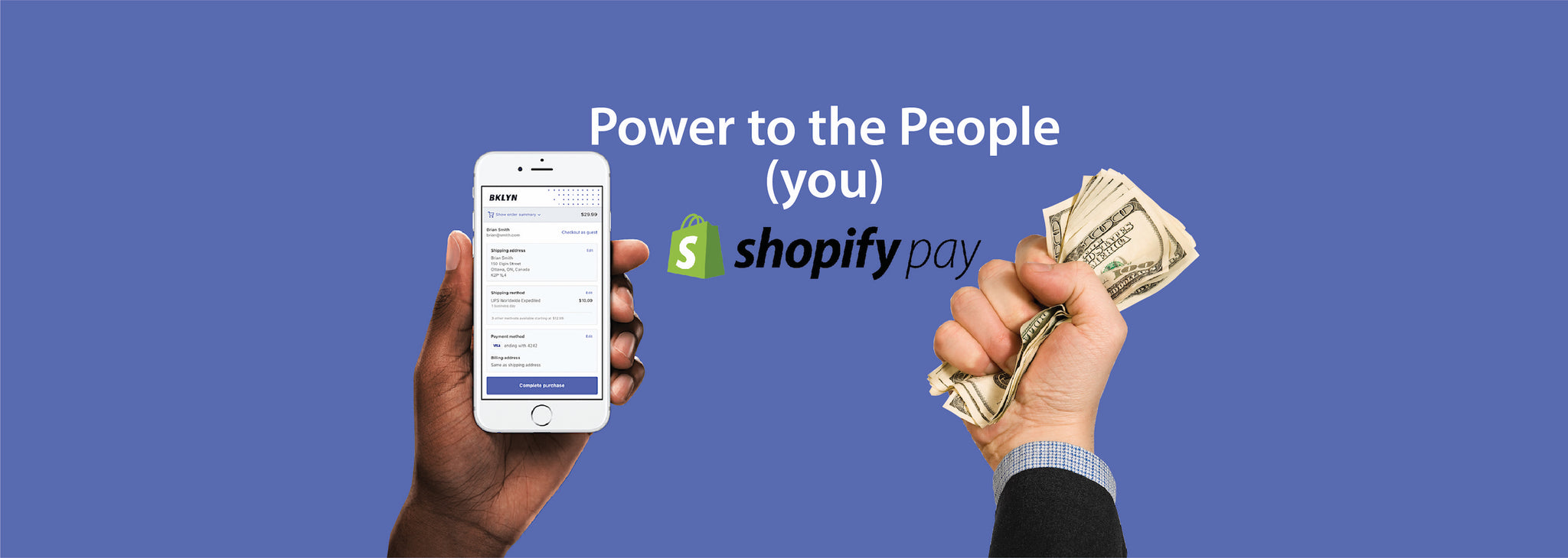 Make Buying Faster AND Easier With Shopify Pay