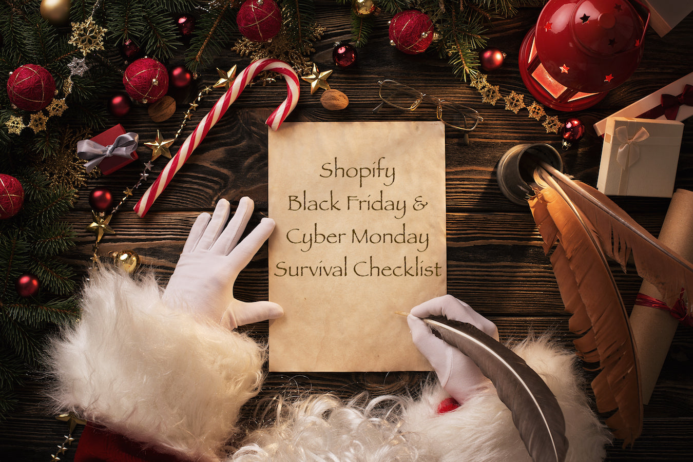 black friday cyber monday 2018 a shopify website survival checklist - Black Friday Deals Christmas Decorations
