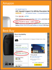 Product Scarcity in Amazon and Best Buy - available in Shopify