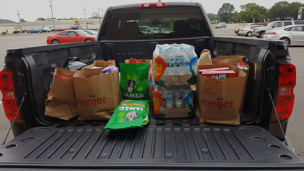 Meijer Market Hurricane Harvey Relief TaskHusky Supplies Biggby