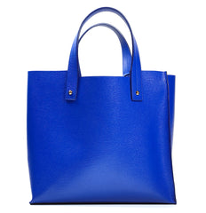 Blue Handbag Purse Bag Change Leather