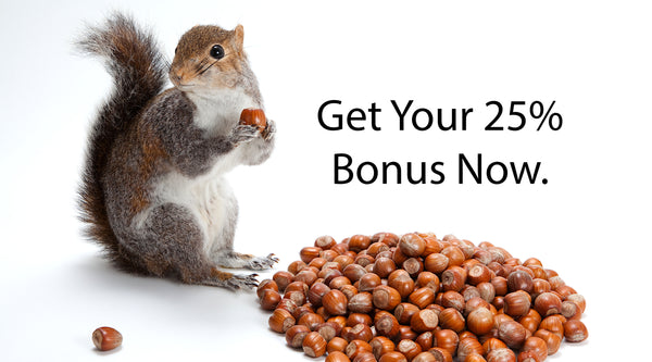 Shopify Task Development Discount Special Offer Squirrel Save Acorns