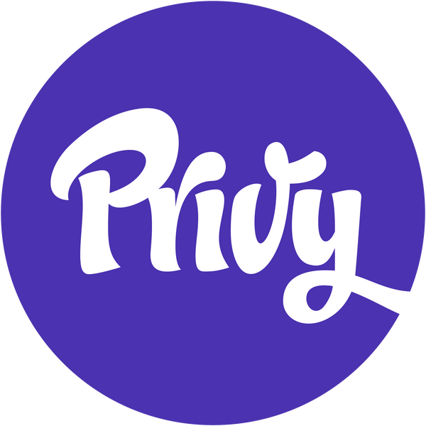 Welcome Newsletter Signup Setup for Privy