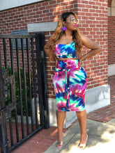 Groove me Baby tie dye two piece set