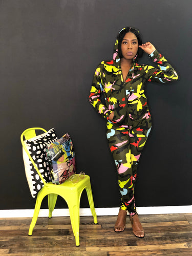 Candy Gurl Camo two piece set