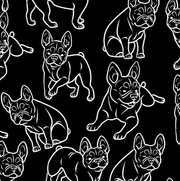 French Bulldog Black Shirt