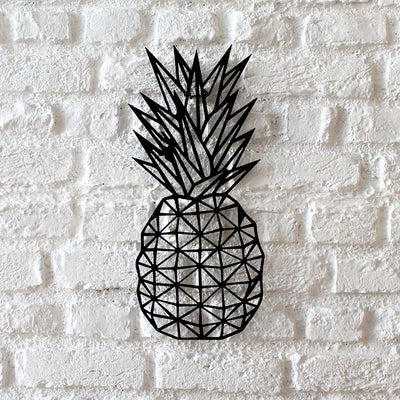 Bystag metal dekoratif duvar aksesuarı ananas- Bystag metal wall art-wall art-wall decor-metal wall decor-pineapple-ananas