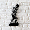 Bystag metal dekoratif duvar aksesuarı Atatürk Kocatepe- Bystag metal decorative wallart decor Atatürk Kocatepe