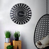 Bystag Metal decorative Wall clock İllusion -Bystag Büyük saat - Bystag Metal dekoratif Duvar Saati İlüzyon- Bystag Big Clock