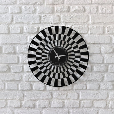 Bystag Metal decorative Wall clock illusion -Bystag Büyük saat - Bystag Metal dekoratif Duvar Saati İlüzyon- Bystag Big Clock