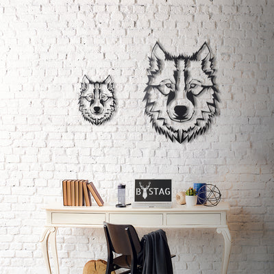 BYSTAG WALL DECOR XL WOLF