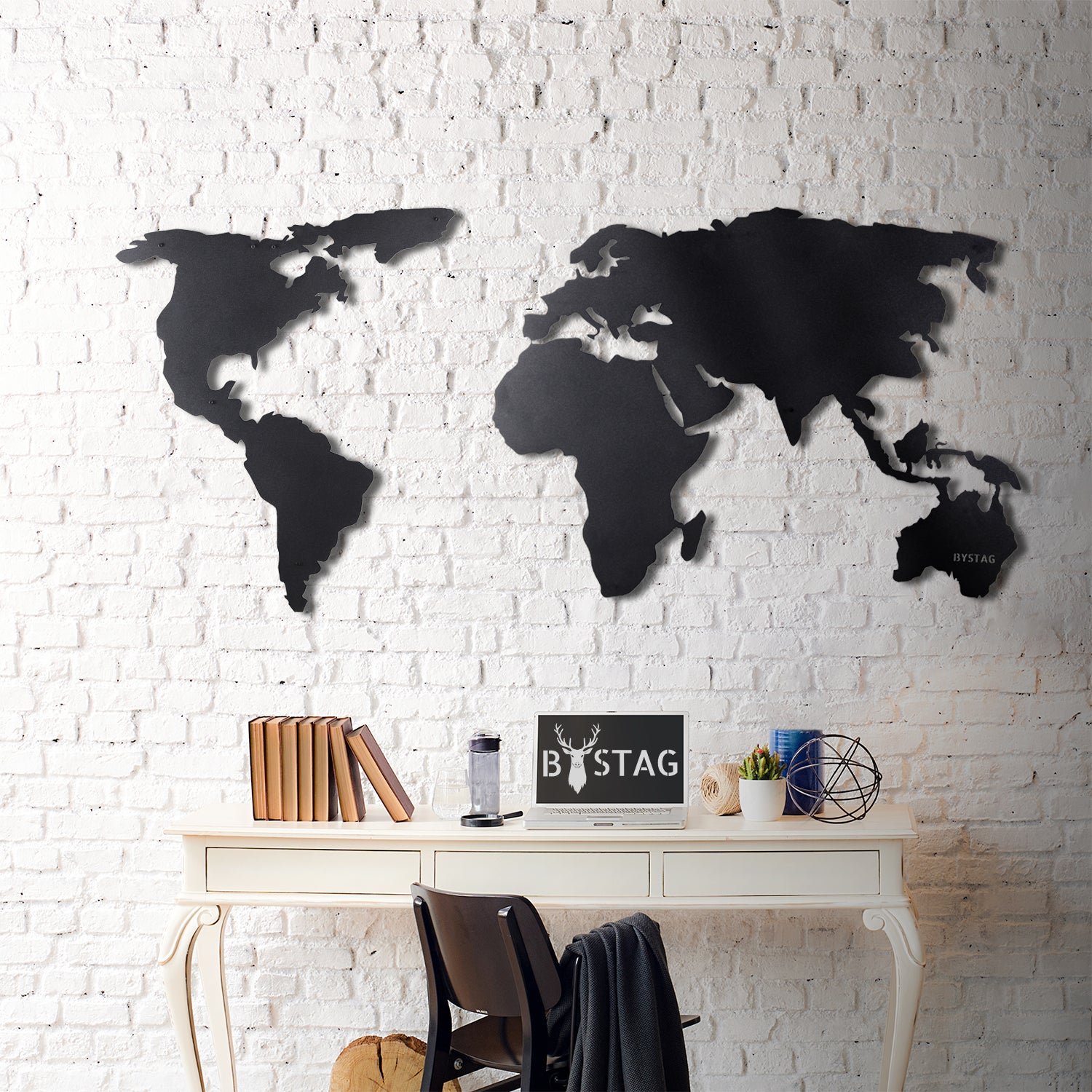 WORLD MAP SİLHOUETTE
