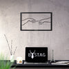 Bystag metal dekoratif duvar aksesuarı - Bystag metal wall art-wall art-wall decor-metal wall decor-creation