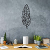 Bystag metal dekoratif duvar aksesuarı tüy- Bystag metal wall art-wall art-wall decor-metal wall decor-feather