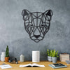 Bystag metal dekoratif duvar aksesuarı puma- Bystag metal wall art-wall art-wall decor-metal wall decor-puma