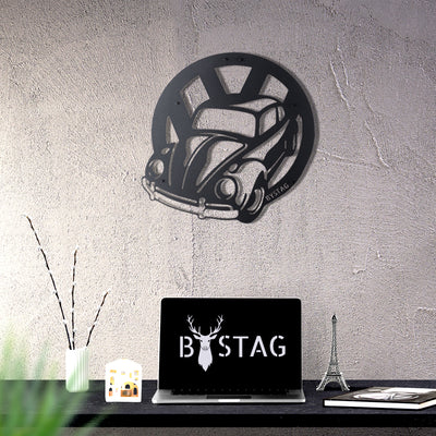 Bystag metal dekoratif duvar aksesuarı beetle- Bystag metal wall art-wall art-wall decor-metal wall decor-beetle
